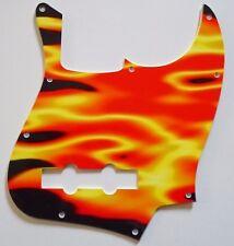 NEW PICKGUARD JAZZ BASS - En feu!  - USA - pour guitare J-Bass