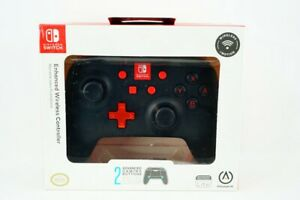 PowerA Enhanced Wireless Controller - Black: Nintendo Switch