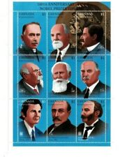 Grenadines 1995 - 1772 - Nobel Prize  - Sheet of nine  - MNH