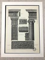 1931 Antique Architectural Print Kenwood House Hampstead London Vintage Original