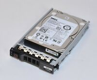 "Dell PowerEdge 1.2TB 2.5"" SAS 10K HDD In Caddy pn 36RH9 for PowerEdge Server"
