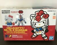 SD EX-STANDARD Sanrio Hello Kitty // RX-78-2 GUNDAM Imported SHIPPED FAST!