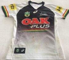 PENRITH PANTHERS BRYCE CARTWRIGHT SIGNED 2017 GAME WORN JERSEY