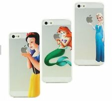 For iPhone Models SPECIAL GIFT PACK Princess Custom Cute Cartoon Gel Case Cover