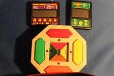 Handheld Follow ME Electronic Game by Sears & (2) video games 21 & Deuces vgc