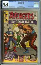 AVENGERS #22 CGC 9.4 OW/WH PAGES