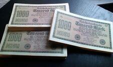 Banconote lot: 25 x 1.000 marchi/Reichsmark di 1922 --- diverse -