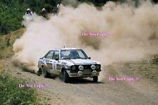 El Señor Vatanen nos Ford Escort RS1800 campeón mundial Rally 1981 fotografía 2