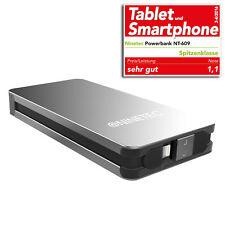 NINETEC 9000mAh PowerBank mobiler Akku für iPhone 4S 5 5C 5S 6S 6S Plus NT609