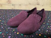 Brash 178593 DILLY Violet Women's Flat Shoes Size 6.5 New With Box