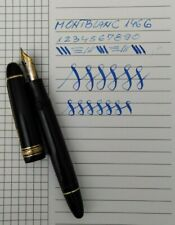✒️  MONTBLANC MEISTERSTUCK 146 G Fountain pen 14k Flex Nib Vintage 50's Rare
