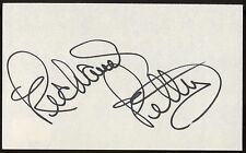 Richard Petty Signed Index Card NASCAR Autographed AUTO Vintage Signature