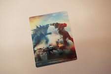 GODZILLA VS KONG - Glossy Bluray Steelbook Magnet Cover NOT LENTICULAR