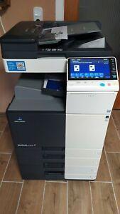 Konica Minolta Bizhub C224 Farbkopierer Drucker Scanner Fax Top Zustand!