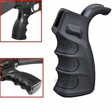 Tactical Ergonomic Rifle Pistol Grip Finger Grooves w/ Storage for RPR Black 14