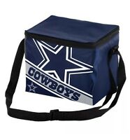 NFL Dallas Cowboys 2019 Insulated Lunch Bag Cooler (6 Pack)