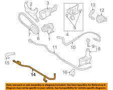 VW VOLKSWAGEN OEM 93-99 Golf Pump Hose-Power Steering Cooler Tube 1HM422896
