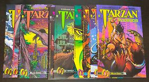 TARZAN (1992 Malibu) -- Warrior / Beckoning / Love -- Set of 9 Issues