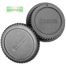 Gehäuse Deckel Objektiv Rückseite Zubehör Set passt zu Canon EOS Kamera EF EF-S