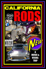 Street Rods CALIFORNIA RODS, A Hot Rod Party, a Main Event Entertainment DVD