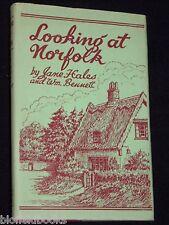 Signierte Kopie: die Norfolk-Jane Hales & Bennett - 1971-1st East Anglia