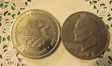 Commerative large/dollar size /heavy medal/Token /Los Angeles 1984  #61