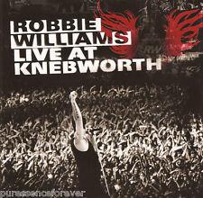 ROBBIE WILLIAMS - Live At Knebworth (UK 14 Tk CD Album)