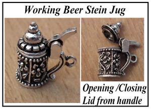 1/12 Dolls House miniature Beer Stein Tankard Tankards Tudor Pub Oktoberfest LGW