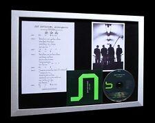 JOY DIVISION Atmosphere LTD Nod MUSIC CD FRAMED DISPLAY
