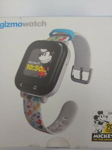 Gizmowatch Gizmo Watch Smartwatch Verizon - Black With Disney Band QTAX53DWB