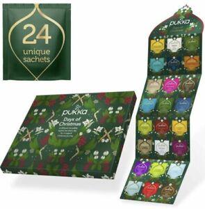 Pukka Herbs Days of Christmas Advent Calendar Festive Gift 24 tea sachets