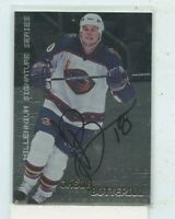 JASON BOTTERILL 1999-00 In The Game Be A Player Millennium Signature Series Auto