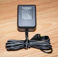 Genuine Radio Shack (AD-539) Class 2 Power Supply AC Adapter! Output: 9V & 360mA