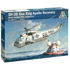 ITALERI 1433 SH-3D Sea King Apollo Recovery 1:72 Plastic Model Kit