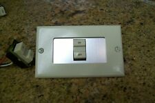 2 GE REMOTE CONTROL SW.  PLATES  FOR RR7  RR9  SYS-- SWITCH NOT INCLUDED
