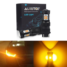 AUXITO 2X Non-Polarity Turn Signal Light 3157 Amber LED Bulb for Ford Explorer