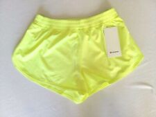 "Lululemon Surefire Short 3"" Size 8 Neon Yellow Reflective FLFH NEW WITH TAGS!"