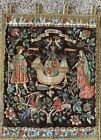 Rosel Erzeugnisse German Medieval Barques des Amours Tapestry Wall Hanging