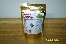 100 % USDA Organic Wheatgrass Juice Powder 1/4 LB. (Cohen's Organic Superfoods)