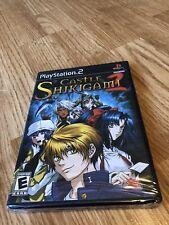 Castle Shikigami 2 (Sony PlayStation 2, 2004) New Sealed BA3