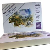 Goldline Watercolour Pad 100 Sheets 200gsm 24cm x 32cm Cold Pressed, Not Surface