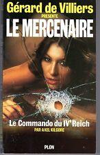 LE MERCENAIRE 3 LE COMMANDO DU 4e REICH PLON EO 1984
