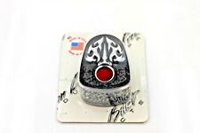 Precision Billet Ace's Wild Black Ignition Switch Cover 08 Up Harley Touring