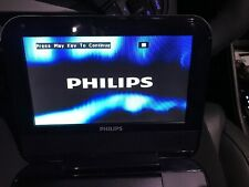 """Philips PD700/37 Portable 7"""" Display DVD Player With Case EUC"""