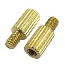 Male to Female thread brass pillars standoff spacer M2x5mm,8mm - UK Seller