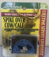 New LOHMAN Herd Series Elk Call, Diaphragm Spike Over Cow/Calf Mouth Call #24C