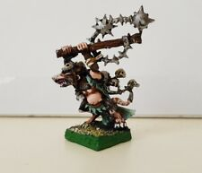 Skaven Plague Lord (b) well painted metal model OOP