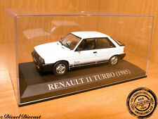 RENAULT 11 TURBO WHITE 1985 1:43 MINT!
