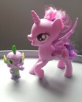 Little Pony singing figures Pony Twilight Sparkle & Dragon Spike purple