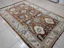 IN Traditional Hand Knotted 6x9 180x270 Oriental Wool Low Pile Carpet Area Rug